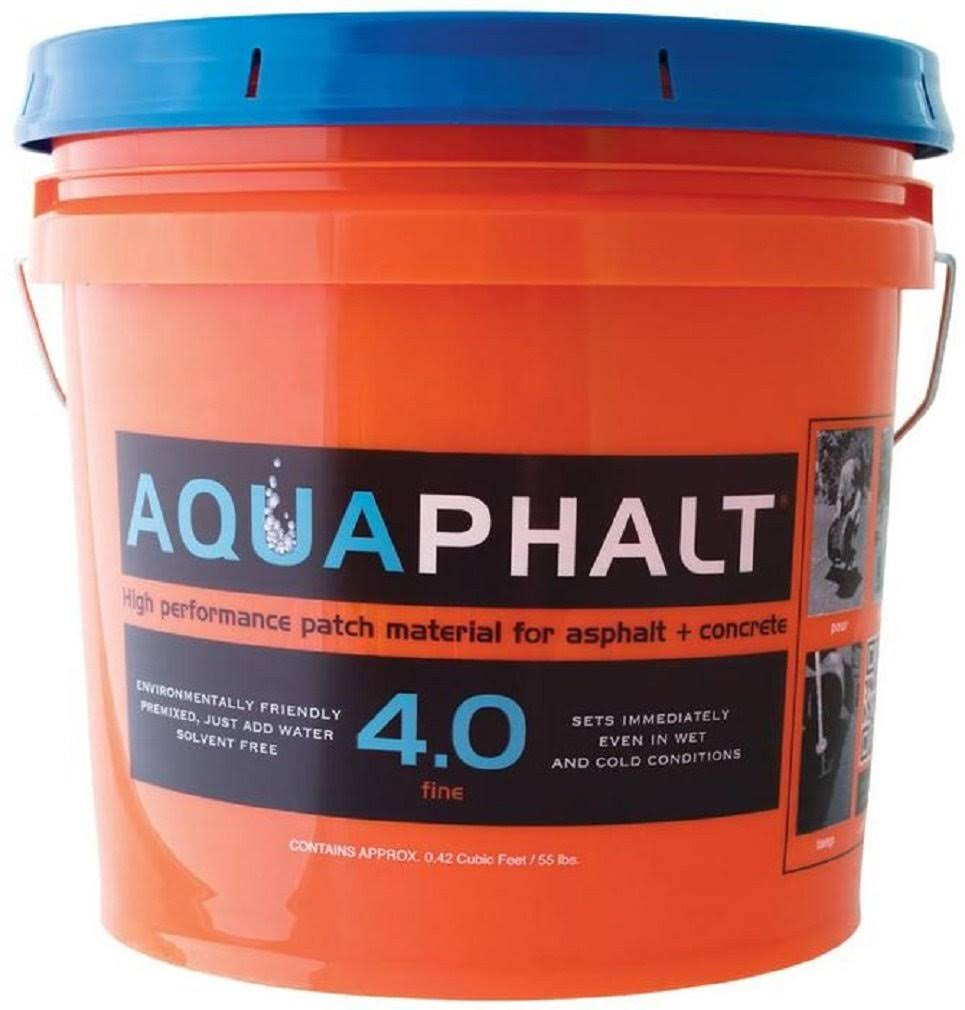 Aquaphalt 4.0 Black Water-Based Asphalt and Concrete Patch Repair