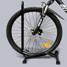 Customized Fat Bike Cycle Stand Bicycle Modern Parking Display Wheel Racks Accessories Rack With Wheels