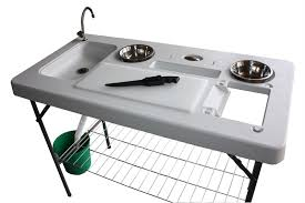 Fish Cleaning Table With Sink Bass Pro by Camp Kitchen With Sink Amazon Com Coleman Pack Away Deluxe