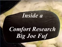King Fuf Bean Bag Chair by Opening Up A Comfort Research Big Joe Fuf Review Commander Youtube