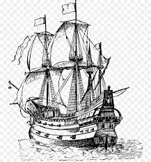 100 Pirate Ship Design Line Drawing At PaintingValleycom Explore Collection
