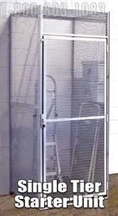 Bulk Storage Cage Mesh Steel Metal Lockers Apartment
