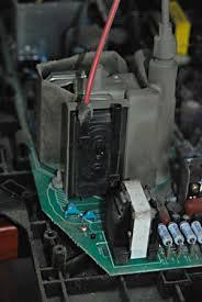 diy tv repair fixing screen flicker on a sony hd wega flogging