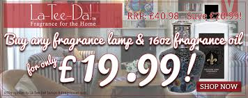 La Tee Da Lamps by La Tee Da Fragrance Lamp U0026 16oz Oil Offer