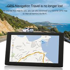 100 Gps Systems For Trucks SGE_9 Inch 8G Car Truck Vehicle HD Touch Screen GPS Navigation Audio Video Player