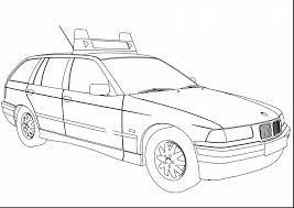 Fabulous Bmw Polizei Police Car Coloring Page Wecoloringpage With Pages And Lego