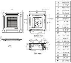 Lg Ceiling Cassette Mini Split by Lg Lmcn077hv Mini Split Air Conditioner Cooling Area Appliances