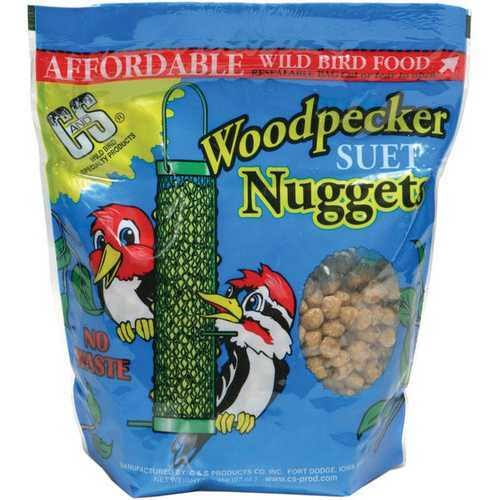 Woodpecker Nuggets Bird Food - 27oz
