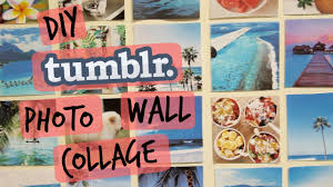 DIY Tumblr Inspired Photo Wall Collage
