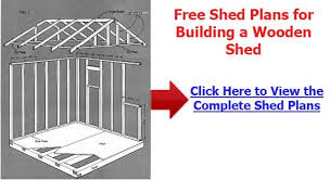 shed cost plans to build a shed r