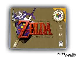 The Legend Of Zelda: Ocarina Of Time N64 Nintendo 64 Game Case Box ...