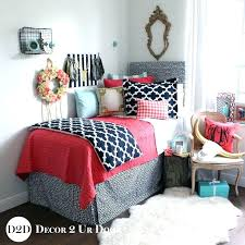 Twin Xl Dorm Bedding by Palm Leaf Black White Top Dorm Room Bedding Blush Pink Quilt