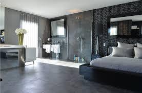 carrelage chambre à coucher salle de bain contemporaine carrelage