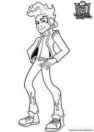 Coloring Pages Monster High