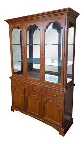 Baker Breakfront China Cabinet vintage u0026 used new york china and display cabinets chairish