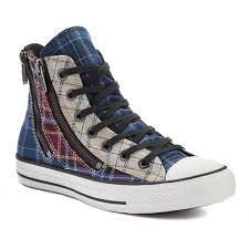 converse all plaid converse all dual zip plaid plaid sneakers discount