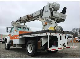 2000 INTERNATIONAL 4800 Digger Derrick Truck For Sale Auction Or ...