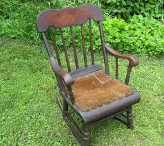 19th Century Antique CHILD'S BOSTON ROCKER 1800's Small Size ... Cherry Wood Antique Rocker With Inlay Collectors Weekly Help Me Safely Disassemble A Rocking Chair Fniture Dit Early 19th Century Decorated Boston Rocker This Is Depop An Federal Style Faux Bamboo Antique Rocking Chair Stock Photos 19thc Original Black Painted And Stenciled Fruit Vintage Childs Bostonstyle The Great Toward The Truth About American Rockers Trader Antiques Atlas