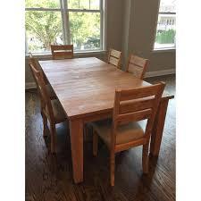 100 raymour and flanigan dining room set bedroom dark wood