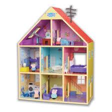 peppa pig wood peppa s wooden playhouse toyworld nz