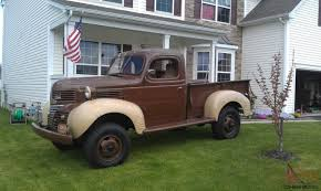 1940 Dodge   1940 Dodge VC-4 Truck 4x4 For Sale   AUTOMOTIVE HISTORY ... 1940 Dodge Pickup For Sale 101412 Mcg Hot Rod 383 Stroker Th350 Street For Sale Towbin Dealer In Henderson Nv Wikiwand 10 Vintage Pickups Under 12000 The Drive Truck Network Classiccarscom Cc1146278 One Ton A Photo On Flickriver 1945 Halfton Classic Car Photos I Love My Truck Pinterest Trucks Trucks And Cars Plymouth Offered By Gateway These 11 Have Skyrocketed Value