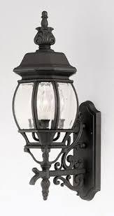 vaxcel acacia 8 outdoor wall light parisian bronze ac owh080pz