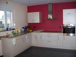 cuisine mur framboise cuisine couleur mur chaios idee inspirations et mur couleur