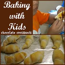 Baking With Kids Ideas Cooking Chocolate Croissant Recipe