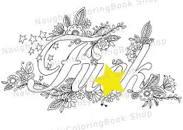 Fuk Swear Words Printable Coloring Pages Word