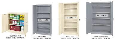Tennsco Metal Storage Cabinet 36x24x72 Black by Steel Storage Cabinets Industrial Storage Cabinets In Stock Uline
