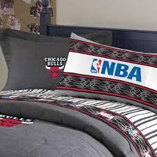 chicago bulls team denim pillow sham jpg