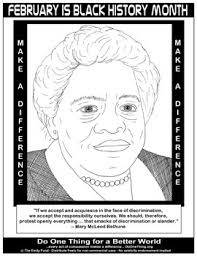 Black History Month Coloring Pages Project For Awesome Free