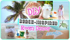 Beach Themed Bathroom Decor Diy by Diy Beach Inspired Room Decor Youtube