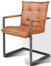 freischwinger stuhl vintage leder carlos 2