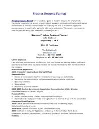 Sample Experienced Rhbrackettvilleinfo Templates Resume Samples For Bank Po Interview Mat Rk Teller