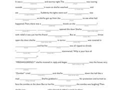 Halloween Two Voice Poems The by 5th Grade Halloween Worksheets U0026 Free Printables Education Com