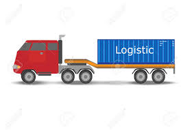 100 Truck And Transportation Container Logistic Concept Vector