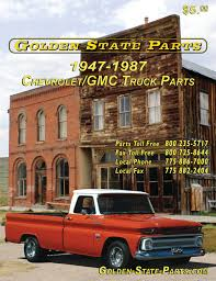 100 Chevy Truck Parts Catalog Free 2017 4787 GMC