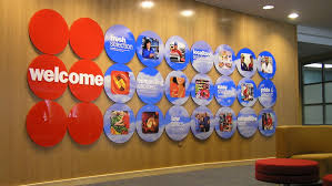 Custom Office Signage Raised Wall Letters Conference Room Decor Corporate Theming