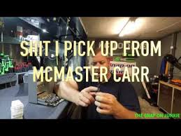 SHOP SUPPLIES FROM MCMASTER CARR