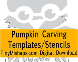 Owl Pumpkin Template by Spidery Webs Pumpkin Carving Stencil Template Pack Print At