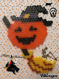 Halloween Perler Bead Templates by 50 Best Halloween Images On Pinterest Fuse Beads Hama Beads And