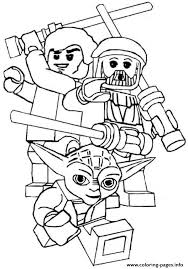 Star Wars Printable Lego Coloring Pages