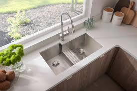 Stainless Steel Utility Sink With Right Drainboard by Avado Stainless Steel Zero Radius Double Bowl Undermount Sink