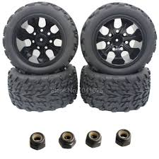 4pcs RC Tire & Wheel Rim Hex 12MM For RC Himoto 1/10 Off Road ... Shop Remote Control 4wd Triband Offroad Rock Crawler Rtr Monster 4x 32 Rc 18 Truck Wheels Tires Complete 1580mm Hex Essentials 4x 110 Stadium And Set For Wltoys 18628 118 6wd Climbing Car 5219 Free Shipping 4pcs Rubber 150mm For 17mm 4 Chrome Truck Wheels With Pre Mounted Tires 1 10 Monster Amazoncom Alluing Fourwheel Drive Military Card Strong Power Scale 6 Spoke Short Course Tyres4pc Radio Mounted 4pcs Tyre 12mm Hex Rim Wheel Hsp Hpi Traxxas Off Road Bigfoot In Toys