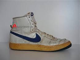 1982 VINTAGE NIKE LEGEND BASKETBALL HI SHOES TOPS BOOTS 80S BLAZER DELTA KOREA