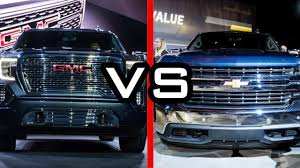 2019 GMC Sierra Vs 2019 Chevy Silverado - YouTube Gmc Comparison 2018 Sierra Vs Silverado Medlin Buick 2017 Hd First Drive Its Got A Ton Of Torque But Thats Chevrolet 1500 Double Cab Ltz 2015 Chevy Vs Gmc Trucks Carviewsandreleasedatecom New If You Have Your Own Good Photos 4wd Regular Long Box Sle At Banks Compare Ram Ford F150 Near Lift Or Level Trucksuv The Right Way Readylift 2014 Pickups Recalled For Cylinderdeacvation Issue 19992006 Silveradogmc Bedsides 55 Bed 6 Bulge And Slap Hood Scoops On Heavy Duty Trucks