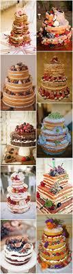 Pinspiration Rustic Naked Wedding Cake