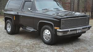 100 Blazer Truck For 15500 Could This 1982 Chevy Dually Be Your New