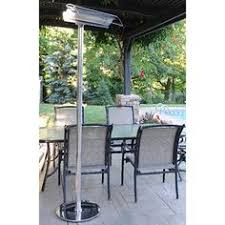 Solaira Patio Heaters by Aura Dgfp15120b Glass Flat Panel Radiant Convection Heater With
